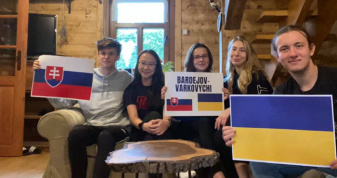 Словацькі учасники проєкту «Молодіжний міст Бардіїв–Варковичі»
