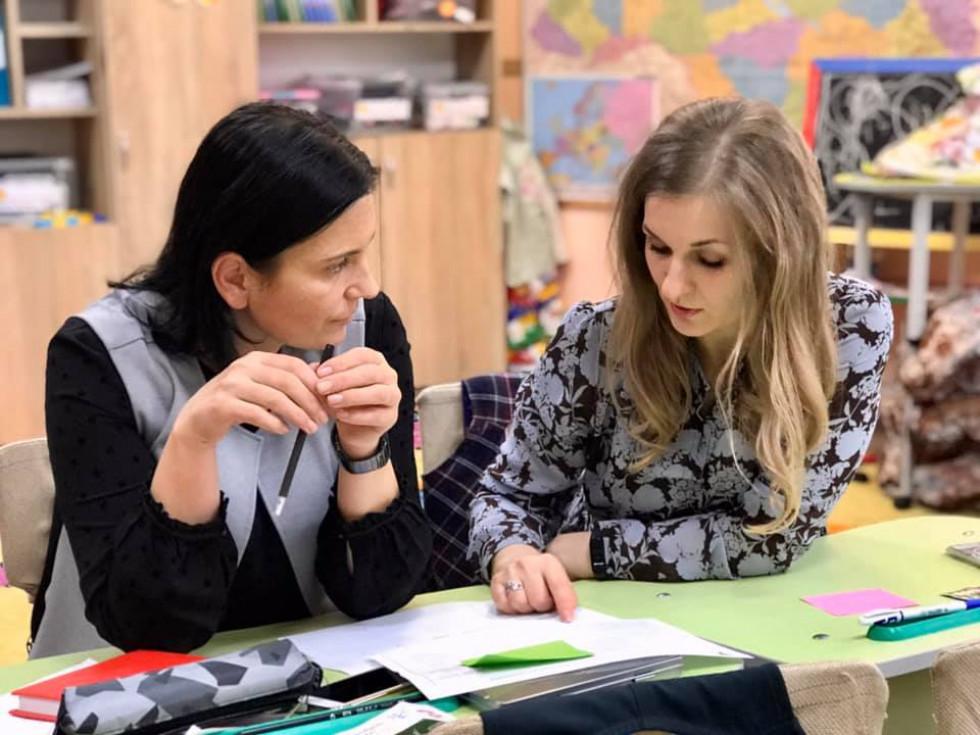Вчительки вчаться