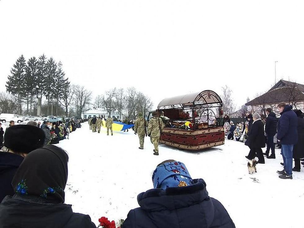Сергія Дичека похоронили з військовими почестями