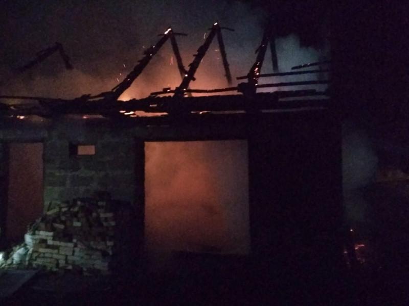 Пожежа спалахнула майже опівночі