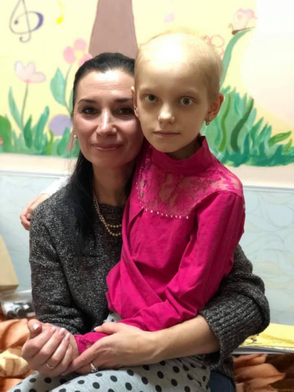 Олена Медвєдєва з Марійкою