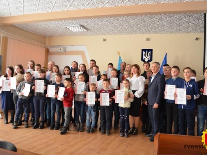 Учасники змагання після нагородження