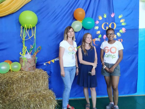 Фотоархів. Волонтери «Go Camp»  в Шепетині